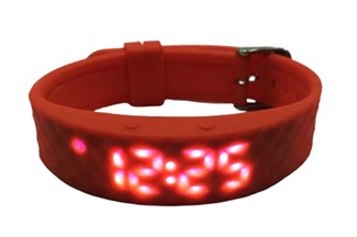 Vibrating watch Red