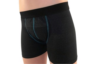 Incontinence pants for boys - Dry black