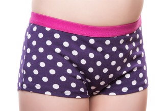 Briefs for daytime wetting for girls