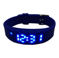 Vibrating watch Blue