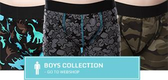 Incontinence boxers for boys