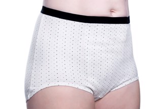 Incontinence briefs for women